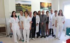El SES ha invertido 130.000 euros en la unidad de quimioterapia y hematología de Zafra