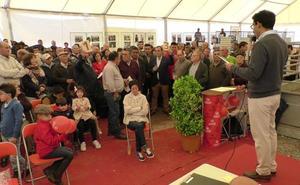 La Diputación de Badajoz subastará 42 corderos en la Feria del Ganado de La Zarza