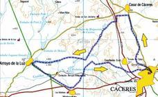 La Marcha de Bomberos Solidarios de Cáceres recorrerá 55 kilómetros por la fibrosis quística