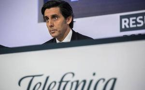 Telefónica gana 837 millones hasta marzo, un 7,4% más