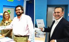 Jaime Vega y Gervasio Rivas, candidatos a presidir el PP de Navalmoral