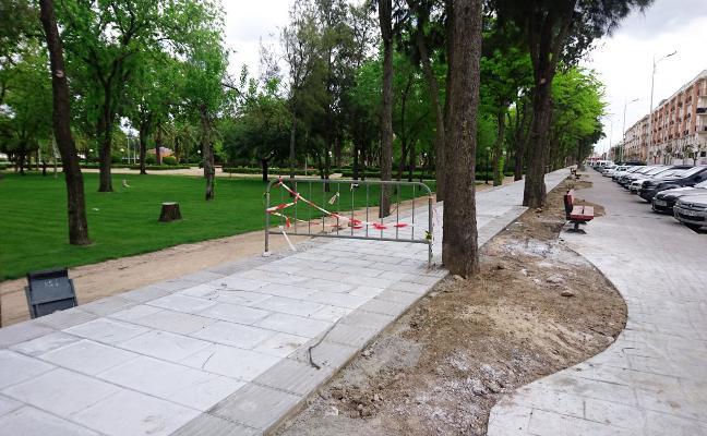 El carril bici pasará junto al parque municipal Tierno Galván