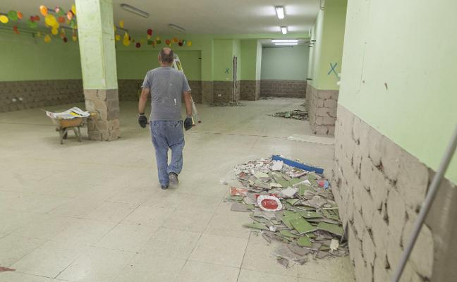 Las reparaciones en colegios ayudan a subir la licitación pública en la región