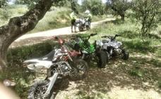 Herida una mujer tras pasarle por encima un quad en el paraje de San Isidro de Badajoz