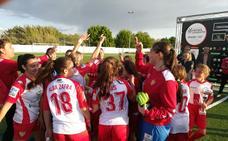 Cerca de 300 chicas participan en la primera cita del programa 'Ligas' de la Fundación Jóvenes y Deporte