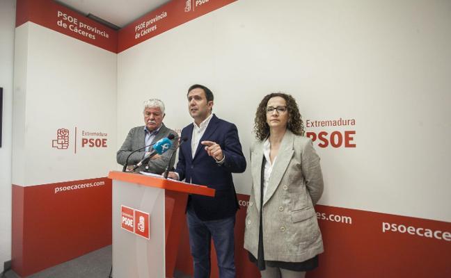 El PSOE lleva propuestas de 250 millones de inversión en Cáceres al debate de presupuestos del Estado