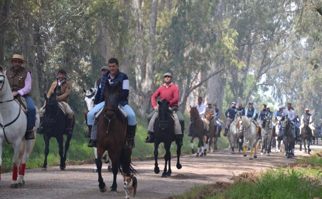Con el Camino se inicia el programa de actos de la romería de San Isidro de Los Santos de Maimona