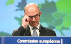 Moscovici pide a España seguir con políticas fiscales «responsables» tras dispararse su déficit al 2,6%
