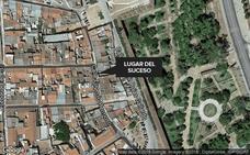 Detenido en Badajoz tras intentar estrangular a un perro y agredir al dueño