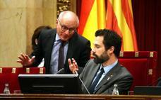 El independentismo aprueba la ley para poder 'teleinvestir' a Puigdemont
