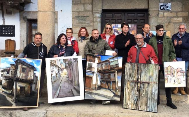 El malagueño Cristóbal León gana el 4º Concurso de Pintura Rápida