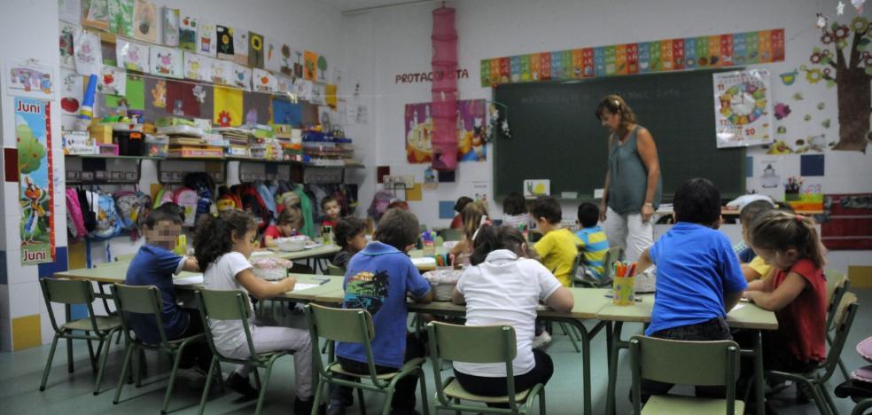 Las aulas se van quedando sin niños
