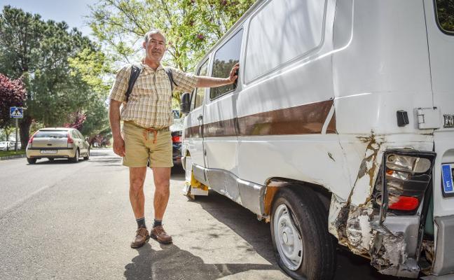 «Quiero seguir viviendo en mi furgoneta»