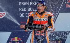 Marc Márquez: «No he sido el más rápido sino el que más determinación ha tenido»