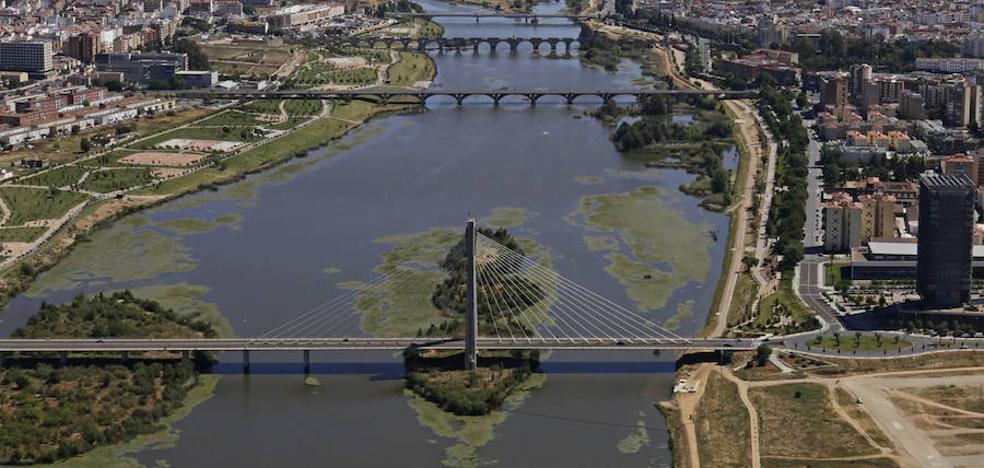 Badajoz se queda sin diez millones de euros de la UE para mejorar el río