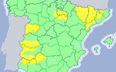 Extremadura está en alerta por lluvias y tormentas