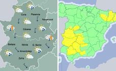 La alerta por tormentas en la región continúa este martes en el que se rozarán los 30 grados