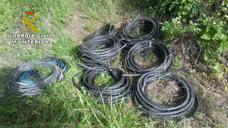 Detenidos por robar 450 kilogramos de cable de cobre en Coria