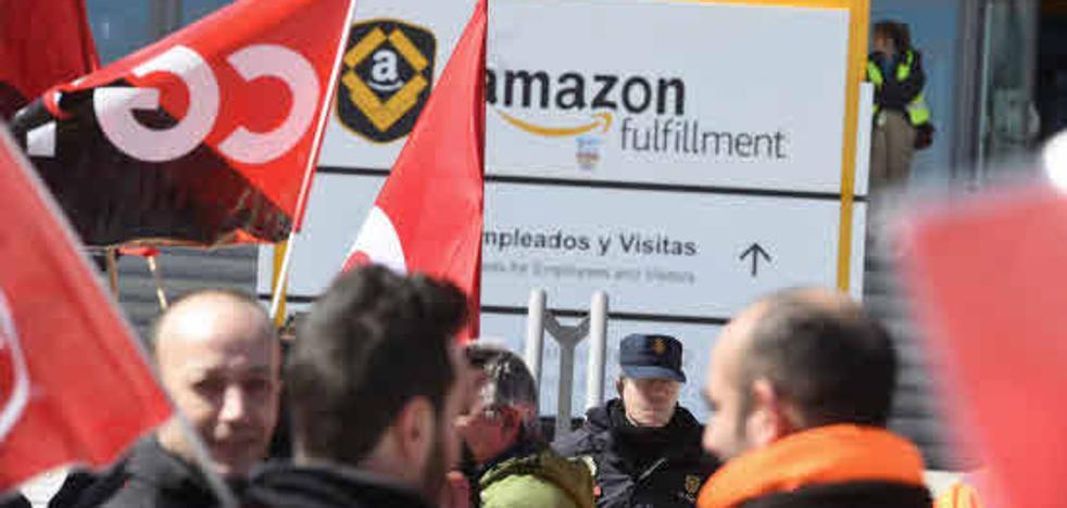CC OO denuncia a Amazon en los juzgados por «precariedad laboral»