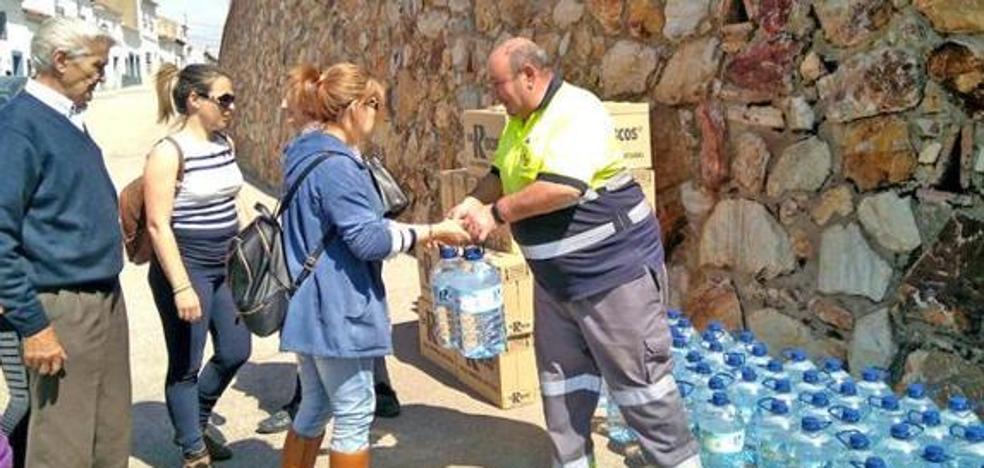 Hornachos consigue un pozo de sondeo para abastecerse además de con garrafas y cisternas