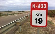 La Diputación de Badajoz se coordinará con otras diputaciones para convertir en autovía la N-432