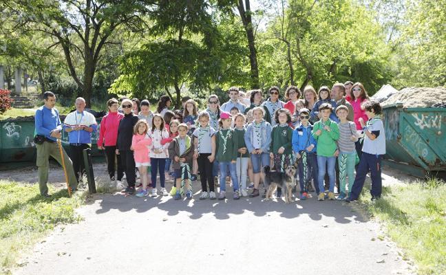 Ruta solidaria en Cáceres a favor del refugio de San Jorge