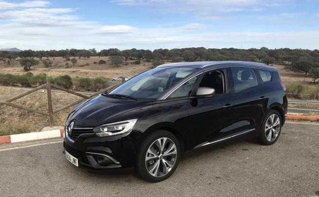 El consumo en la prueba del Renault Grand Scénic 1.6 automático, de 160 CV, fue de 5,8 litros