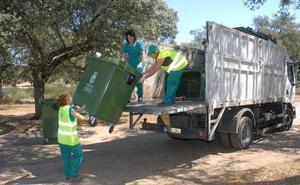 Promedio dispone medio millar de contenedores de refuerzo en las romerías de San Isidro