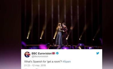 La BBC se burla de Amaia y Alfred