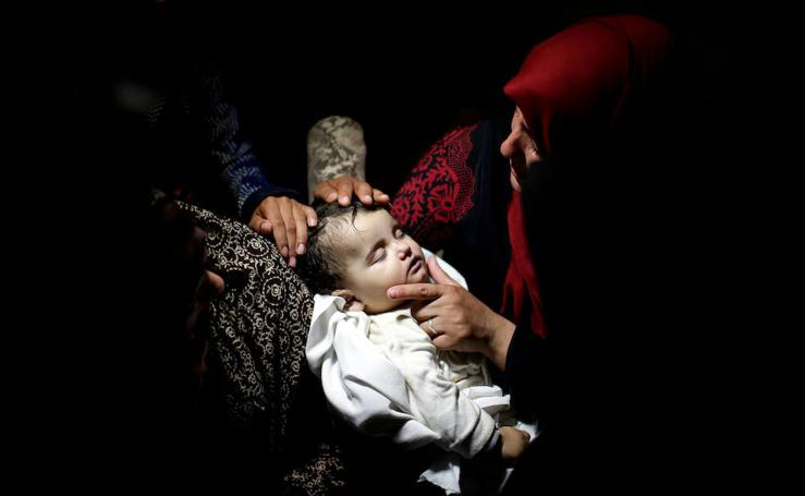 Baño de sangre en Gaza