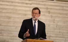 Rajoy acepta verse con Torra pero avisa que el diálogo debe ser «dentro de la ley»