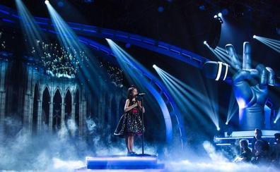 'La Voz Kids' manda en la noche del lunes con la victoria de Melani