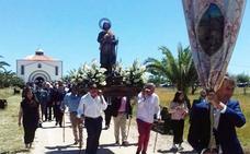 Procesión de San Isidro Labrador en Villanueva