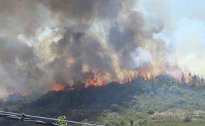 El riesgo alto de incendio comienza el 1 de junio en Extremadura