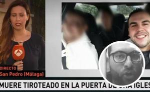 'Asesinado' por el informativo de televisión