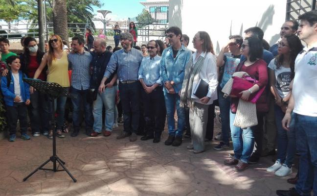 Protestas por el retraso en las obras del techo del Conservatorio