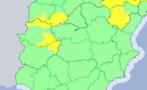 La alerta por tormentas vuelve este viernes a Extremadura