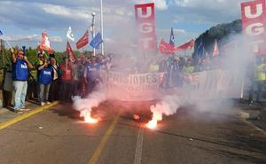 Disuelven una concentración de trabajadores de prisiones en Badajoz