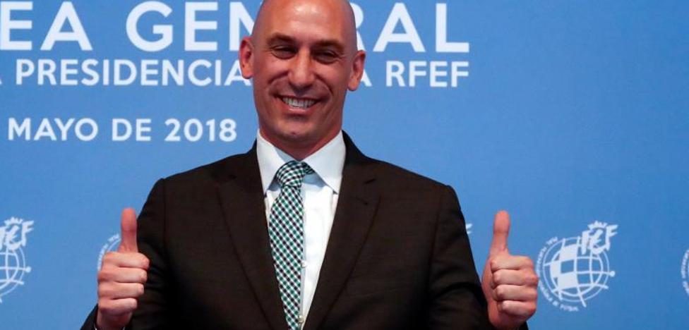 Rubiales, nuevo presidente de la Federación Española de Fútbol