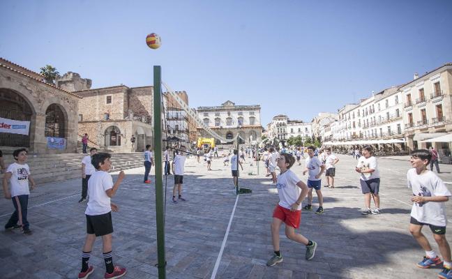 Los deportes olímpicos toman la parte antigua