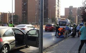 Una joven resulta herida tras ser atropellada en un paso de peatones en Badajoz
