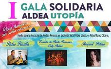 Aldea Utopía celebra el domingo una gala para ayudar a familias de Aldea Moret