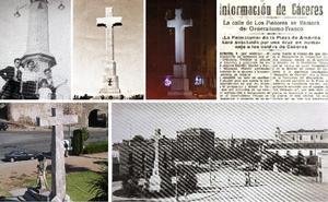 Cumple 80 años la construcción más polémica de Cáceres: la Cruz de los Caídos