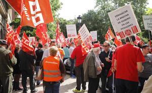 Protesta en Cáceres para pedir que se consolide el sistema de pensiones