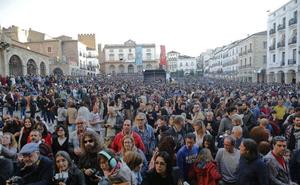 El festival Womad dejó 49.000 kilos de basura en Cáceres