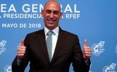 Rubiales quiere a Pedro Rocha en el fútbol sala