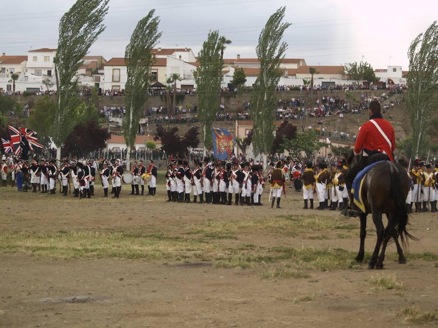 La Albuera rememora su batalla con más de 1.000 soldados