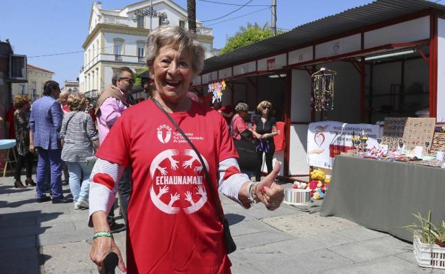 La Plaza de España se convierte hoy en el epicentro del voluntariado emeritense