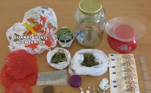 Seis detenidos por tráfico de drogas en Talayuela