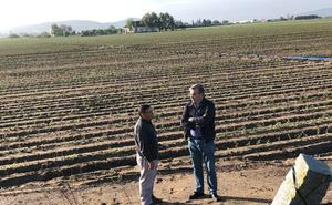 La Junta valora 'in situ' los daños de las tormentas en explotaciones agrarias